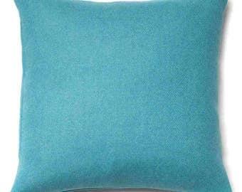 Harris Tweed Cushion Teal