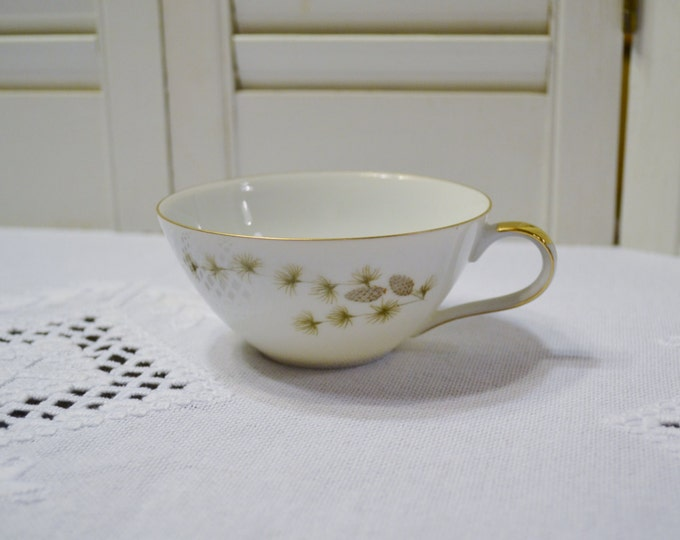 Vintage Mikasa Sequoia Coffee Tea Cup Set Pine Cone Branch Pattern 6141 Japan Panchosporch