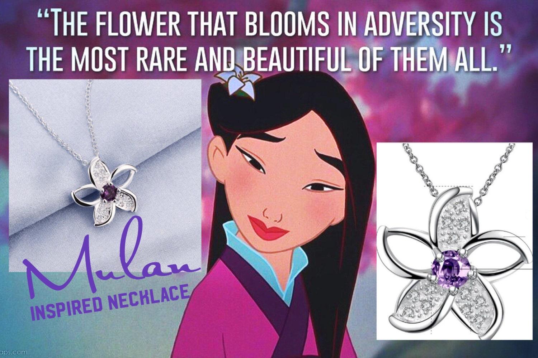 Collana Fiore Di Ciliegio Ispirata a Mulan Con di ClaimYourself
