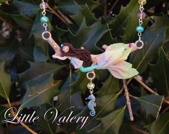 Rainbow - Fimo mermaid