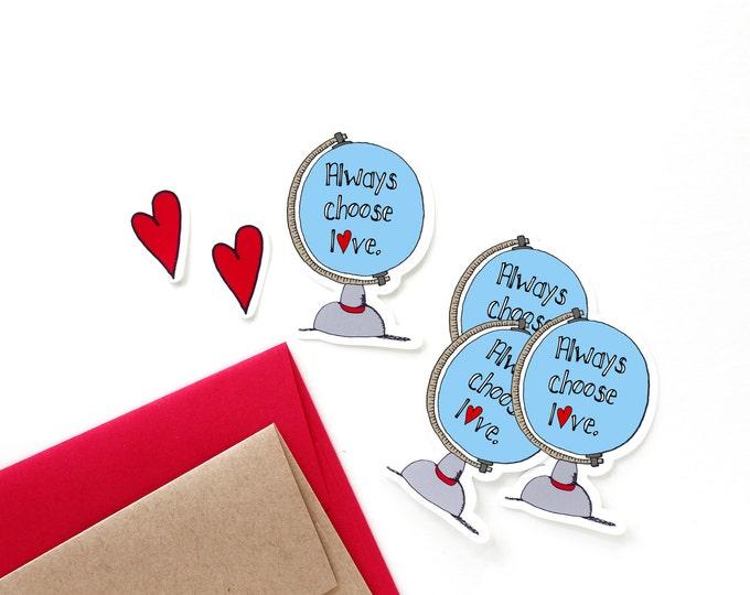 Choose Love Stickers Set