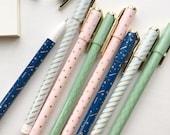 Pack of 4 Pastel Series Gel Ink Pens 0.5mm P2311