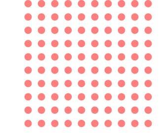 Polka Dots Stencil, Polka Dots Cookie Stencil, Polka Dots Cake Stencil, Polka Dot Cookies, 5.5 x 5.5, Polka Dot Cupcakes, Polka Dot Stencil