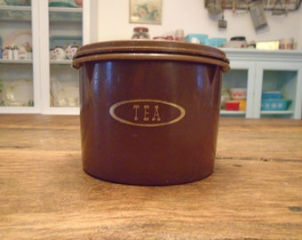 Vintage Tupperware Tea Canister