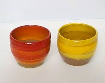 Fiesta Wine Cups - Bright
