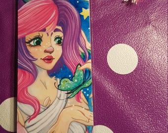 Moonshade handmade bookmark