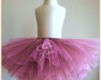Ready to Ship- Pink and Chocolate Tutu. Parties, Birthdays, Photos, Infants-Girls.