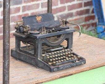 L.C. Smith & Bros Typewriter No. 1 Antique Home Decor