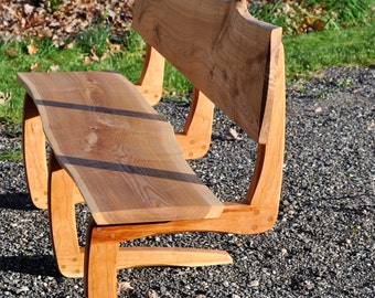 Cherry and Ash Bench