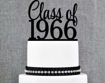 Class Reunion Cake Topper, School Reunion Topper, Class of Topper (T334)