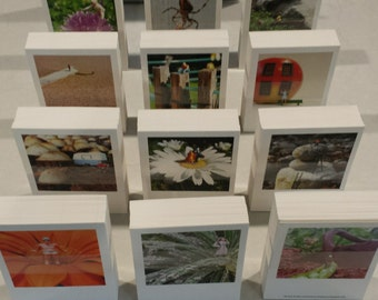 Miniature Tiny People Photographs  |  Postcards  |  Set of 12  |  4 Envelopes  ||  Funky Adventure in a Miniature Life | Photography