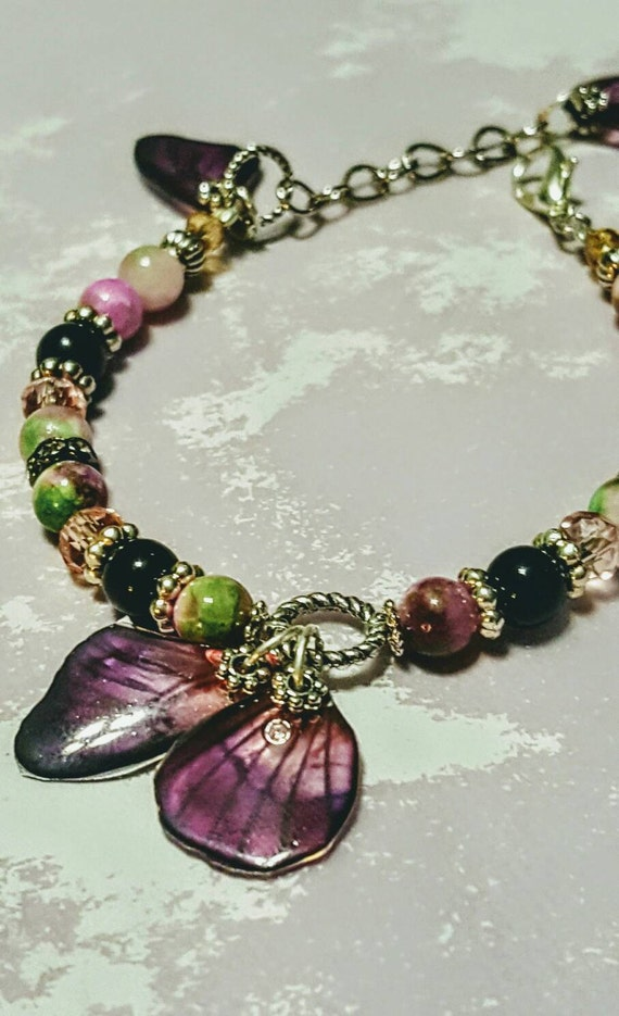 Springtime Dreams Butterfly Wings - Bracelet
