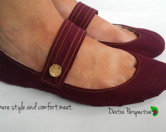 Mary Jane Shoes - Shoes Women with Leather or Rubber Sole