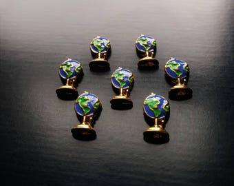 Globe Floating Charm for Floating Lockets-Travel Charm-Gift Idea