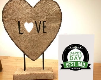 Best Dad in Yorkshire - Funny Father's Day Card - Designed and Printed in Yorkshire - Free Post - No.1 Dad