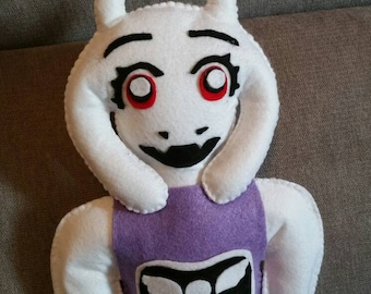 Felt handmade plush Toriel (unofficial) from Undertale, felt plushie,Toriel plush,Undertale plush,Toriel stuffed toy,Toriel toy