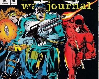The Punisher War Journal #47, October 1992 Issue - Marvel Comics - Grade VF