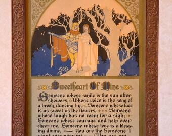 SWEETHEART OF MINE by E.M. Brainerd