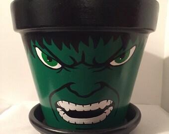 The Incredible Hulk Flower Pot
