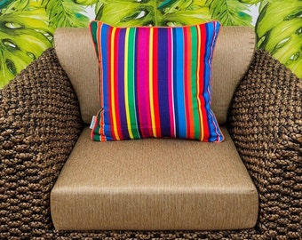 PREMIUM OUTDOOR cushion covers Bounce Decorative throw cushion for indoors and outdoors - cover only