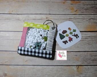 DIGITAL ITEM: ITH Hide N Seek Sensory Bag Embroidery Design