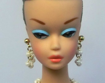 "Handmade 1/6 12"" inch Fashion doll Pearl jewelry set  for Barbie, Reproduction, Silkstone and Fashion Royalty NE100071"