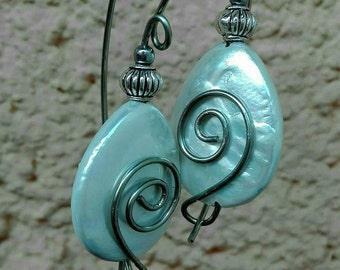 ORECCHINI ARGENTO Artigianali Orecchini Eleganti Pietre Naturali Gift Lovely Earrings Hand Made Italy Orecchini Argento Stupendo Dono Amore