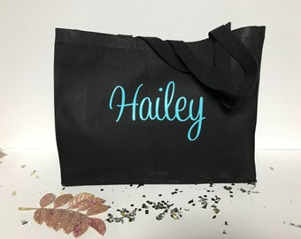 Tote Bag, Personalized Tote Bag, Bridesmaid Gift, Personalized Bag, Personalized Gifts, Monogram, Monogrammed Gifts