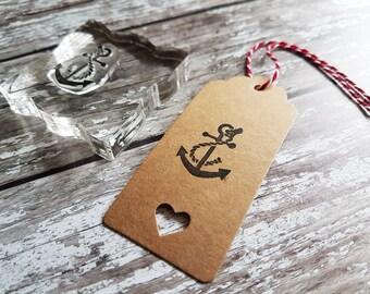 Anchor Stamp, Nautical stamp, nautical gifts