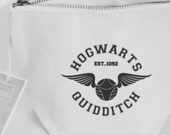 Quidditch Case | Hogwarts House Accessories * Pencil Case * Cosmetic Bag