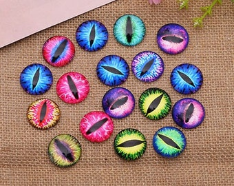 Rain Rainy Weather Glass Cabochons - Mixed Handmade Photo Round Cabochon - Circle Dome Image Cabs -10mm, 12mm, 14mm, 18mm, 20mm, 25mm hs269