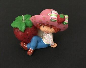 Vintage Strawberry Shortcake Candle. Unused.