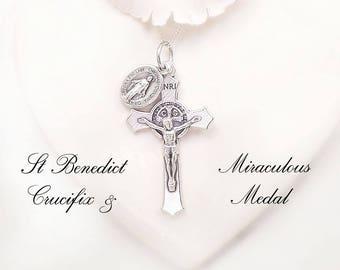 St benedict medal   Etsy