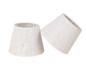 "Set of 2 lampshades for table lamps petite - 6,3"" - E14"