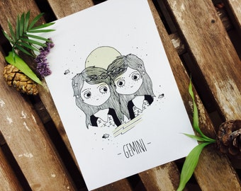 Illustration Gemini