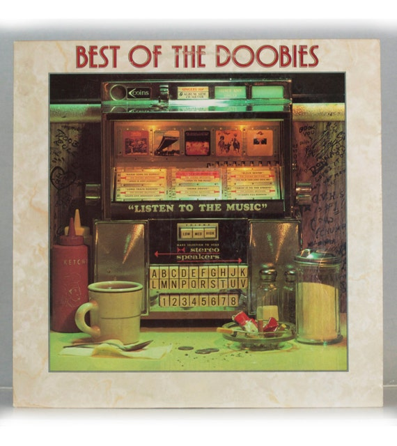 The Doobie Brothers - Best of the Doobies Album Warner Bros. Records 1976 Original Vintage Vinyl Record