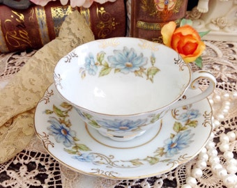 Vintage Jyoto China Tea Cup and Saucer Made in Occupied Japan #192