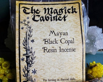 Black Copal Resin, Incense, Mayan Copal, Witchcraft, Wicca, Witch, Resin Incense, Smudging, Natural Incense, Incense, Smudge Incense