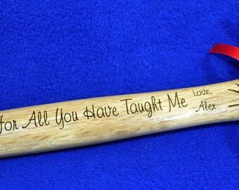 Coach Gift ~ Engraved Coach Gift ~ Hammer Gift ~ Gift For A Coach ~ Gymnastics Gifts ~ From Team To Coach ~ Great Gifts For Coach ~ Coach ~