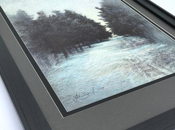 "Illustration ""Snow Path"""
