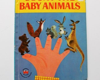 Count the Baby Animals Wonder Book 1958