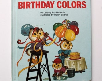 Wise Owl's Birthday Colors 1981