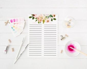 Wedding Gift List Printable : ... bridal shower gift list baby shower gift list printable gift list