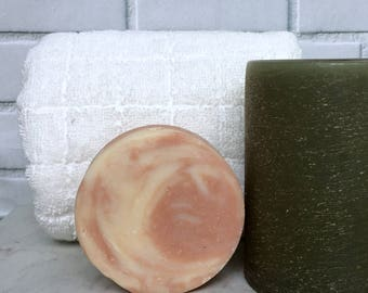 Amber Soap, Vegan Soap, Artisan Soap, Handmade Soap, Bar Soap, 3.5oz