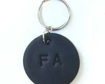 Custom Circle Keychain