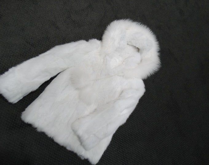 Winter children fur coat F115