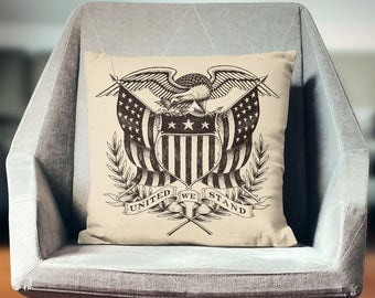 Patriotic Pillow | Patriotic Throw Pillow | Patriotic Cushion | Patriotic Pillowcase | Patriotic Pillow Cover | Patriotic Pillow Case