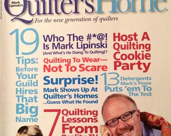 Quilter's Home magazine - 2 issues