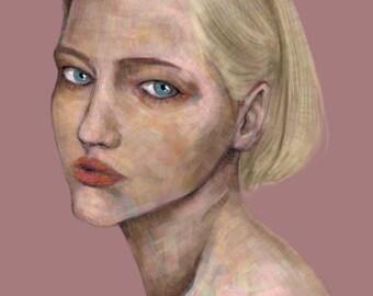Custom digital portrait, digital drawing, digital painting, portrait from photo, custom portrait Illustration, custom portrait painting