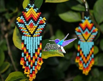 Handcrafted earrings-Mexican jewelry-Mexico